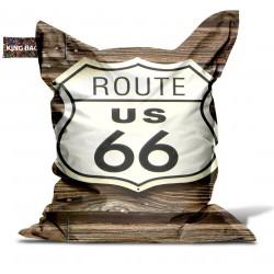 Pouf géant route 66