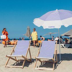 parasol rayé