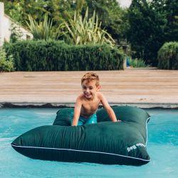 Pouf flottant enfant vert