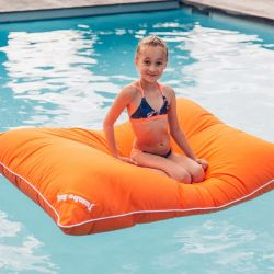 Pouf flottant junior orange