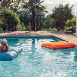 Pouf piscine junior jumbo bag orange