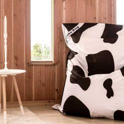 Pouf imprimé vache