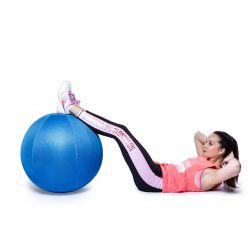 Ballon de gym bleu