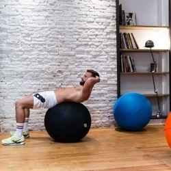 Balle d'exercice bleu