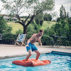 Pouf piscine junior terracotta