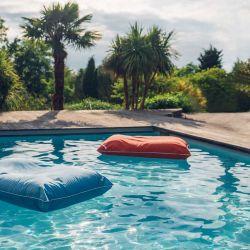 pouf piscine Jumbo Bag terracotta