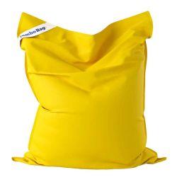 Pouf jaune d extérieur