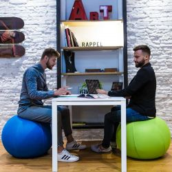 Boule ergonomique vert anis