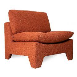 Fauteuil rétro lounge brick