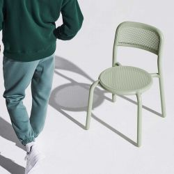 Chaise verte d'eau Fatboy