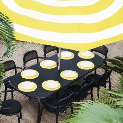 Table extérieur alu noir Fatboy