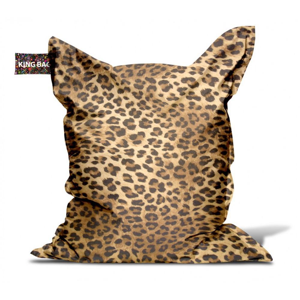 Pouf léopard
