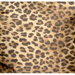 Pouf géant léopard