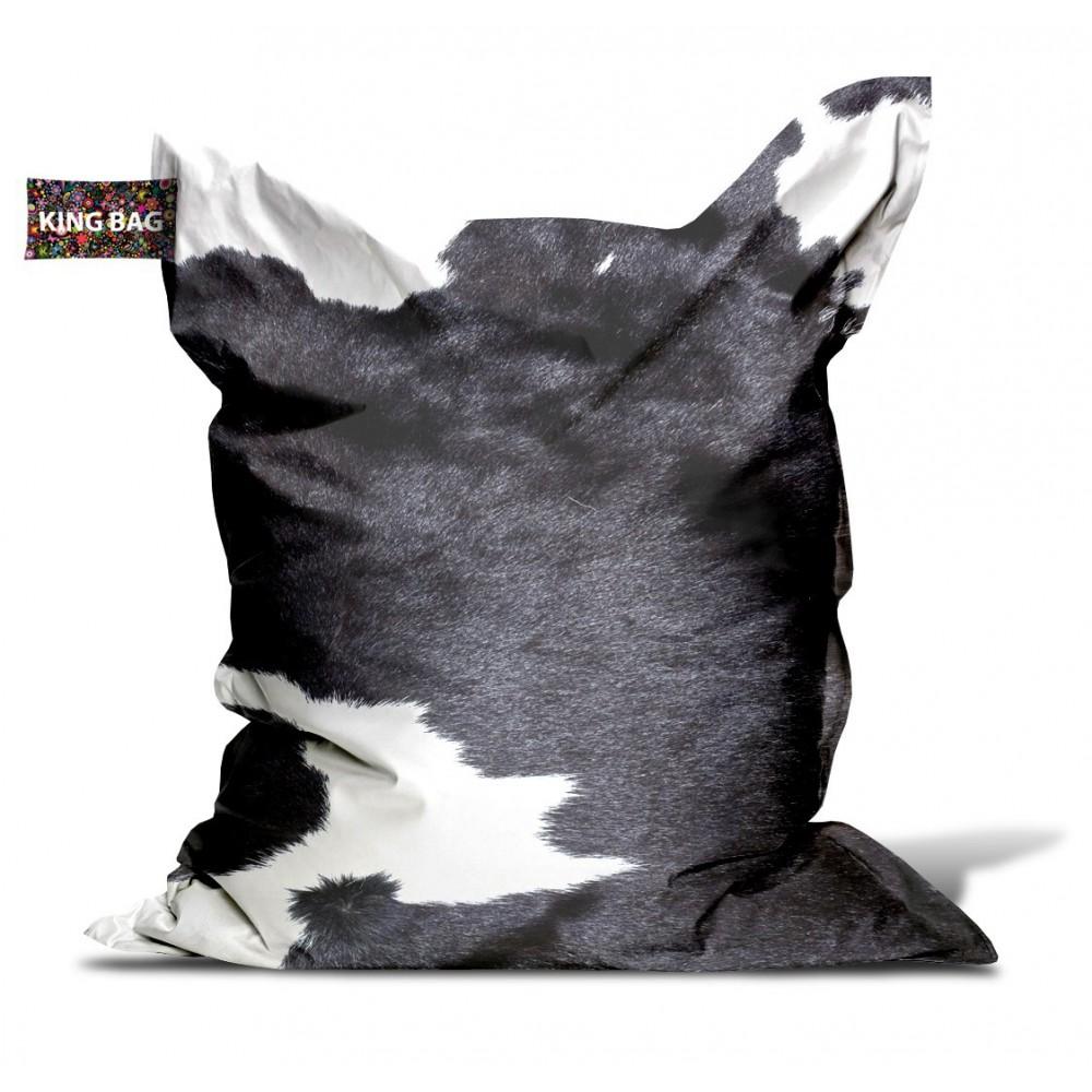 Pouf géant vache