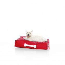 Pouf chien rouge