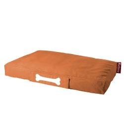 Pouf chien orange