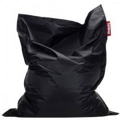 Pouf géant noir