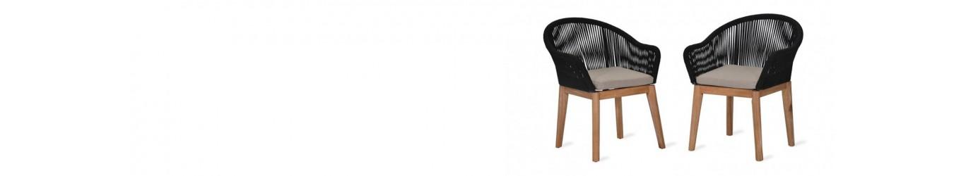 Chaise et banc